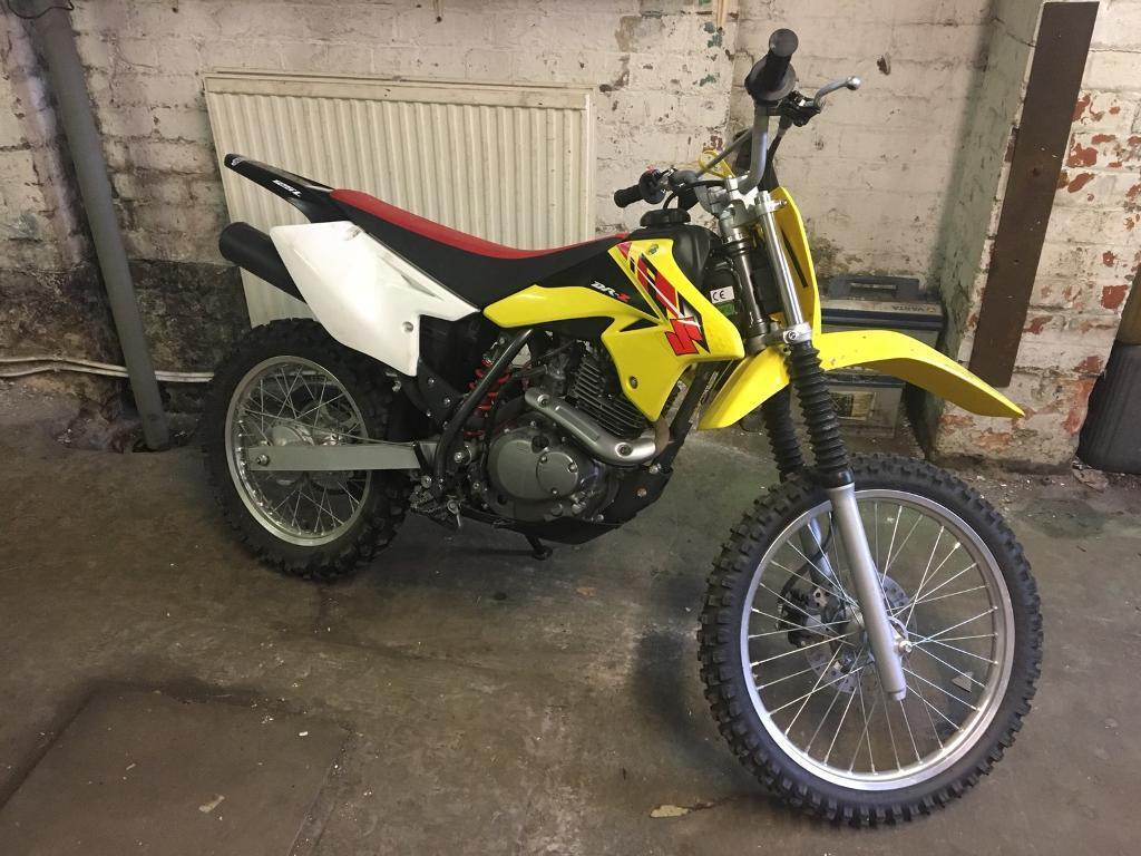 Suzuki DRZ 2014 125cc 4 Stroke Manual Motorbike Off road Dirt Bike