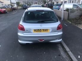 PEUGEOT 206 ZEST F.S.H NEW CAMBELT KIT, WATER PUMP & AUXILARY BELT, RECENT MOT & SERVICE