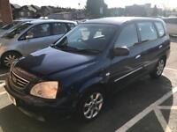 2004 KIA CARENS DIESEL. MOT. TAX. RELIABLE