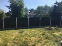 12 x used 5ft high fence panels