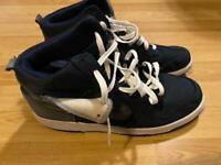Nike size 10 high top trainers