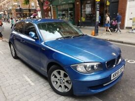 BMW 120D SPORT FULL LEATHERS LONG M.O.T VERY QUICK CAR.
