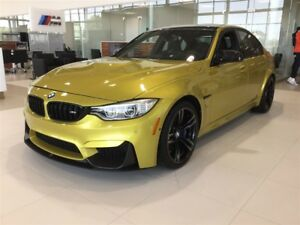 2017 BMW M3 Groupe supérieur+exécutif+Carbon Package