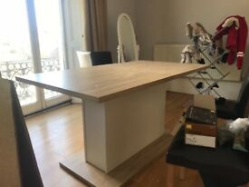 BRAND NEW IVORY DINING TABLE !!!!