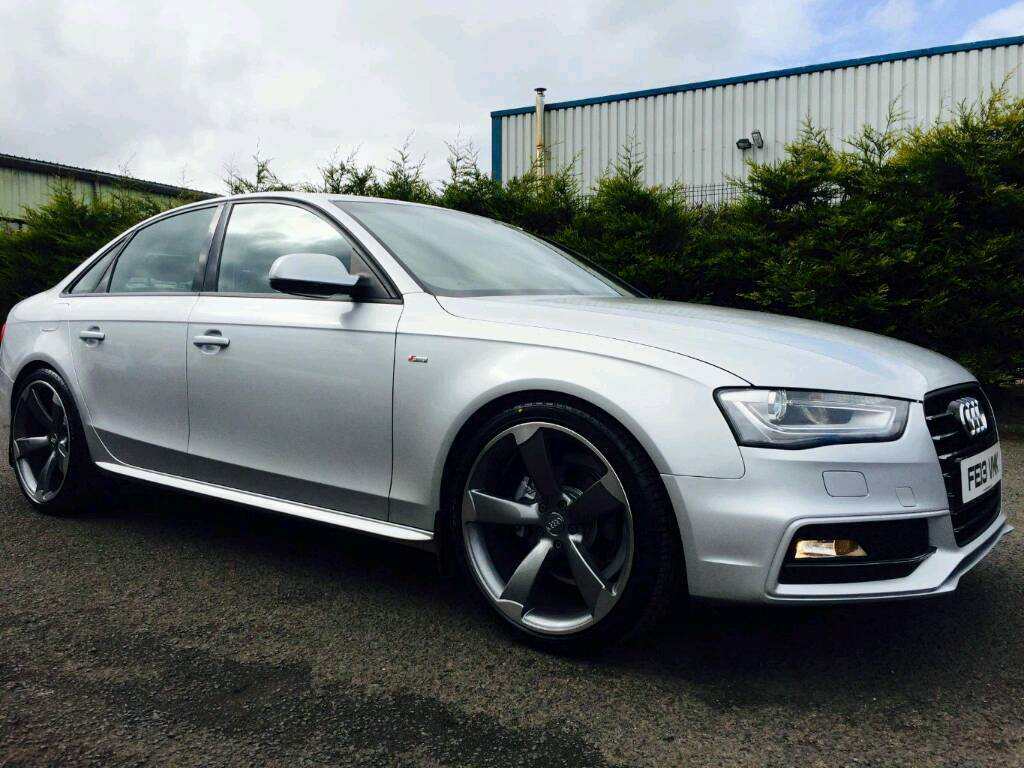 2013 audi a4 s line black edition spec in londonderry for S line exterieurpaket a4