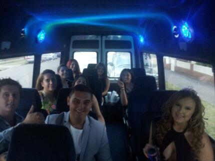Party bus, shuttle bus hire in Sydney