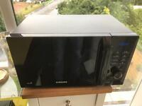 Samsung microwave 2 years old hardly used