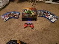 Marvel style playstation 4 with 6 top games