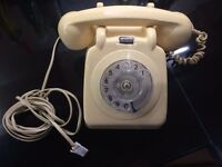 Old rotary phone good condition working order