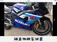 Suzuki gsxr 600 2005