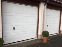 2 x Sectional Garage doors