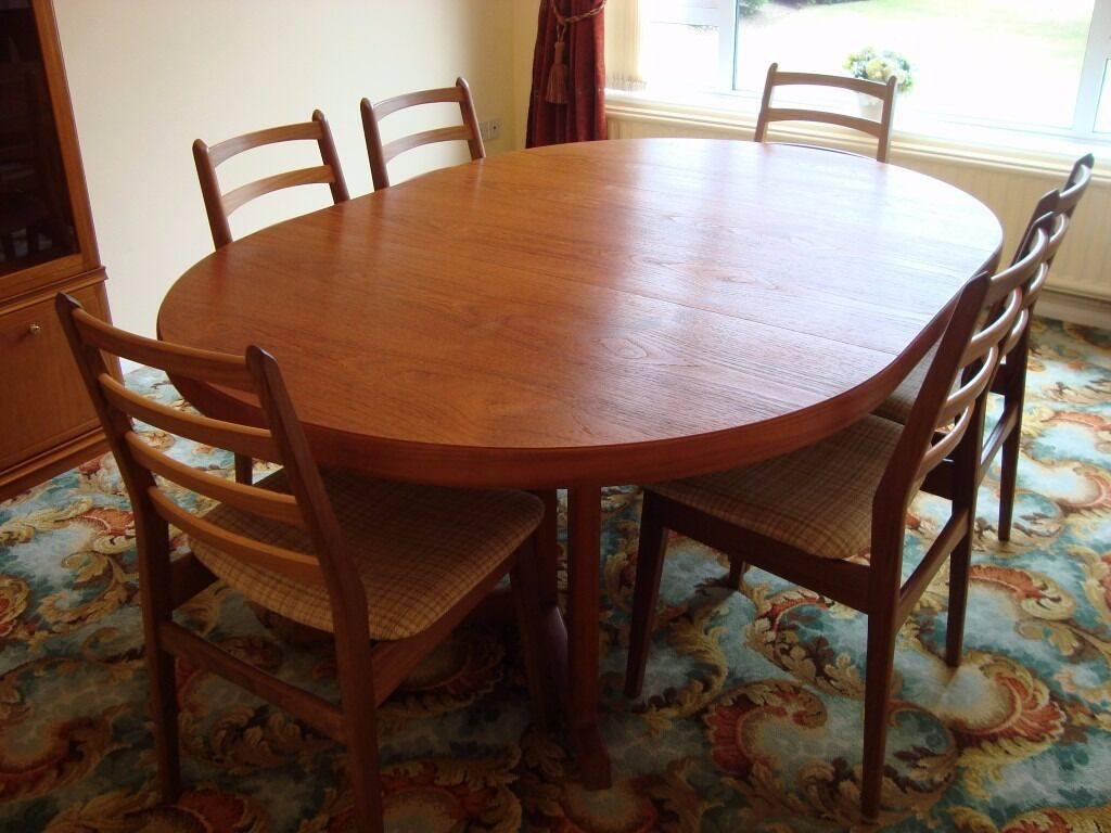 Vintage Extendable Dining Table Rosengaarden Vintage Extendable Teak Dining Table 2 Removable