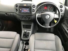 2006 VW GOLF PLUS 2.0 GT TDI ,FULL MOT, JUST SERVICED,DVD/DAB/BLUETOOTH TRADE IN OK, CREDIT CARDS OK