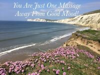 Brexit Blues? Beat it with Mobile Massage! Special Price starting at £49/h!