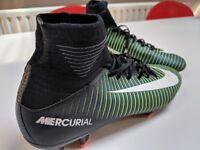 Boys Nike Mercurial Football Boots - UK Size 5.5