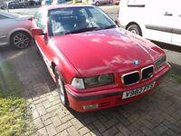 BMW E36 316i Compact Sport 1.9 litre