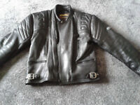 Motorcycle Jacket - Leather Sportex Apollo - hardly worn, suit large man