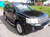 LAND ROVER FREELANDER 2 LAND ROVER FREELANDER 2.2 TD4 XS 150BHP (black) 2010