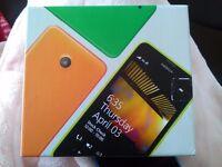 Nokia lumia 635 with box and USB lead