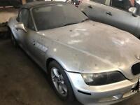 2001 BMW Z3 ROADSTER BREAKING FACELIFT WIDE BODY ALLOYS BONNET SILVER LEATHER BUMPER WING PANEL