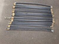 Set of Drain Clearing Rods