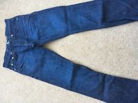 Teenagers jeans