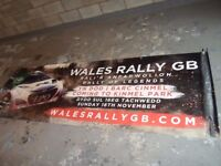 wales rally GB banner kinmel park 2014