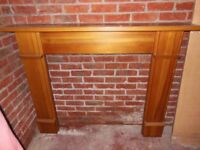 Fireplace Surround in Solid Pine