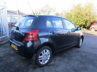 Toyota Yaris 1.3 VVT-i TR 5dr Lady Owned good condition inside out BARGAIN 2008