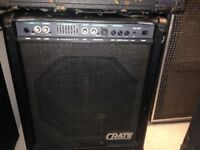 Crate BX100 Bass combo