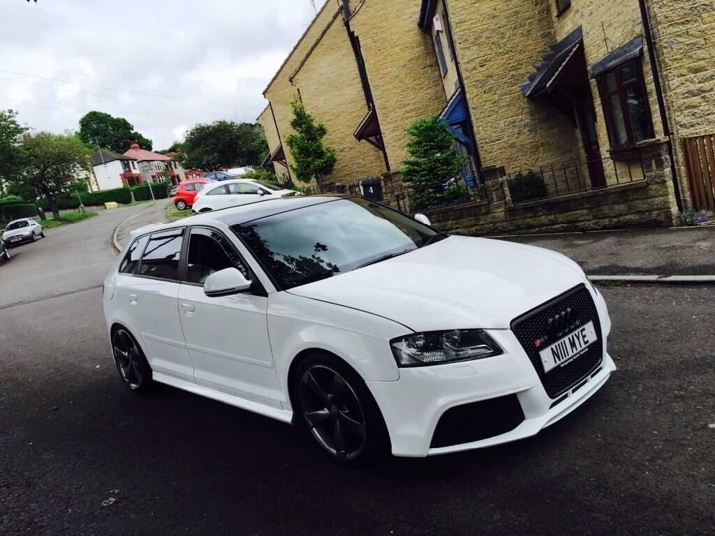 Audi A3 1 9 Tdi Rs3 Replica A3 Tdi Audi Rs3 S3 Black Edition S Line Replica In Sheffield