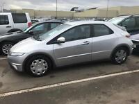 2008 Honda Civic 1.7 I -VTec Ex I Shift Semi Auto. SUPERB Mot £70 a Year Tax 70,000 Miles Warranty