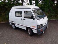 Professional Devon campervan conversion. Economical fun vehicle.