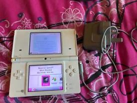Nintendo ds lite console in white