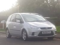 Ford C-Max 1.6 TDCi Style 5dr£1,499 p/x welcome 3 OWNER,LONG MOT,DRIVES SUPERB