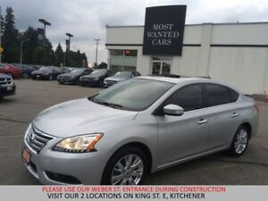 2013 Nissan Sentra SL | NAVIGATION | SUNROOF | CAMERA | LEATHER