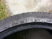 """VGC Tyre 235/35 ZR19   19""""   Good tread   No punctures or repairs"""