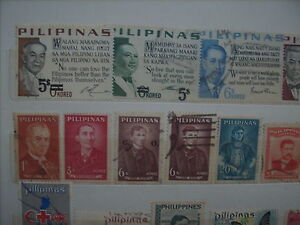 Selling My Stamp Collection, Philipines Lot