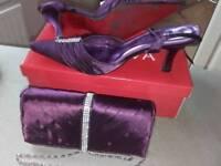 Ladies shoes and handbag