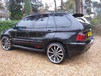 BMW X5 SPORT AUTO PETROL well presented special car in good condition and MOT to end of July 2017