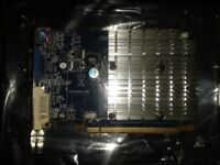 HD 2400 Pro 256M 64-Bit DDR2 PCI-E Graphics card.