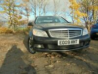 09 MERCEDES C200 SE CDI 2.1 DIESEL,MOT OCT 21,3 OWNERS,2 KEYS,PART-HISTORY,STUNNING EXAMPLE