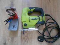 240V JIGSAW, GUILD. With BOX of 12 BLADES
