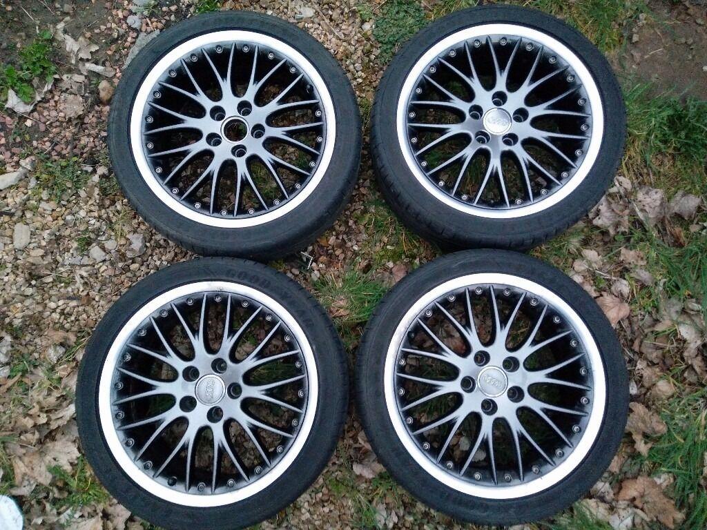 "Genuine Audi 18"" BBS Speedline (Split Rim) Alloy Wheels (A3 A4 A6 VW Golf etc)   in Glenrothes ..."