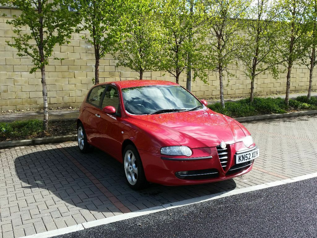 2002 Alfa Romeo 147 1.6 TS 5dr - FSH - NEW CLUTCH - 12 months MOT