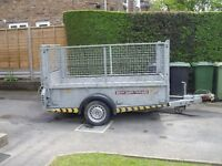 Brian James Shifter Trailer with mesh sides, 1500kg , £1250