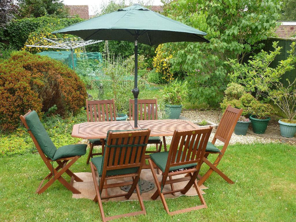 Hardwood Garden Furniture Set In Yeovil Somerset Gumtree