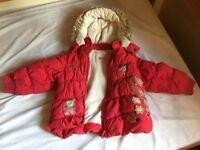 Next winter girls coat, age 3-4, very warm.