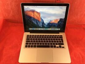 """MACBOOK PRO 13"""" CORE 2 DUO 4GB RAM 500GB HDD-2009-FIXED PRICE-collection from shop E17 9AP-L702"""