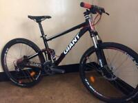 Giant anthem x3 4.0 double suspension custom built mountain bike